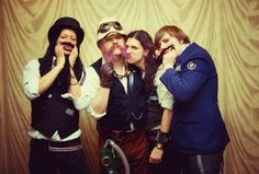 Steampunk music: The Men That Will Not Be Blamed For Nothing