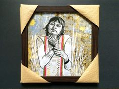 #SWOON Limited Edition Framed Print IRINA street art wheatpaste #graffiti #OutsiderArt