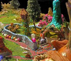 Gourd Hollow II By Erick Woods Village detail.