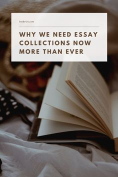 The power, immediacy, and need for essay collections.   book lists | essays | essay collections