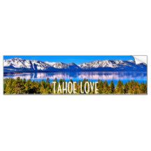TAHOE LOVE BUMPER STICKER