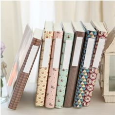 Retro Notebook - lined, graph, plain papers || MochiThings
