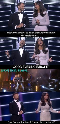 Best Eurovision hosts OF ALL TIME.