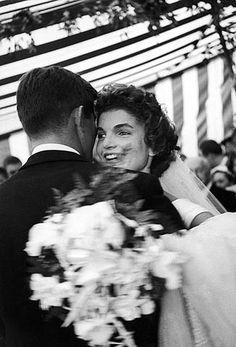 The Wedding of John F. Kennedy and Jacqueline Bouvier, September 1953 by Lisa Larsen