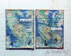 My journey through the Scrapbookworld...: *On the wings of dreams...*