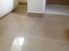 Polished Dijon Limestone Floor Tiles