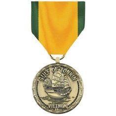 gulf of tonkin commemorative medal | Gulf of Tonkin Vietnam Commemorative Medal | Medals of America