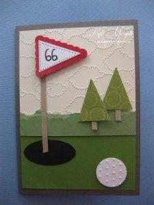 Stampin Up Golf Card                                                       …