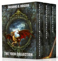 The complete Yden Trilogy, along with two bonus Yden short stories.