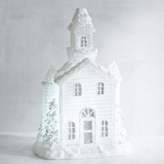 White Church LED Candle