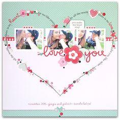 Love You *Doodlebug* - Scrapbook.com