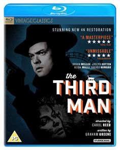 The Third Man - Blu-Ray (Studiocanal New 4K Restoration Region B) Release Date: July 20, 2015 (Amazon U.K.)