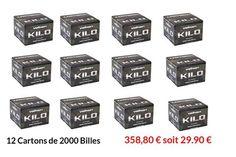 Pack de 12 Cartons de 2000 billes Kilo   358.90 €  soit 29,90 €  PORT OFFERT  https://atomik.fr/12-carton-2000-billes-paintball-valken-ki?utm_content=bufferd7d86&utm_medium=social&utm_source=pinterest.com&utm_campaign=buffer…