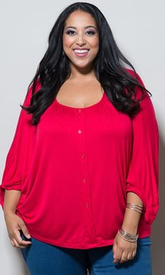 40626b4fa5d Katie Pullover Top (Classic)  44.90 by SWAK Designs  swakdesigns  Curvy   PlusSize