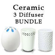 3 Diffuser Ceramic Bundle - SAVE 25%