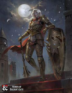 Fantasy Female Warrior, Fantasy Rpg, Fantasy Artwork, Dark Fantasy, Fantasy Fighter, Fantasy Fiction, Warrior Women, Medieval Fantasy, Fantasy Girl