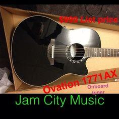 New B Stock Ovation, $899 list price Just $399 @ www.jamcitycentral.com