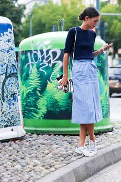 Nice! The Best from Milan Fashion Week Spring 2015 - Street Style Photos from Milan - Elle#slide-1#slide-1