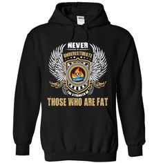 Never underestimate the strength of those who are fat T-Shirts, Hoodies. BUY IT…