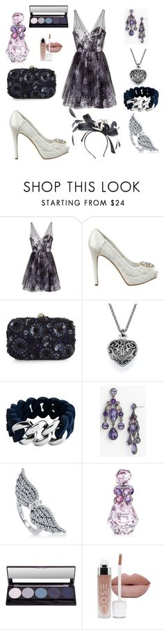 """""""Lady's Fun"""" by briannaduffin ❤ liked on Polyvore featuring Parker, GUESS, Monsoon, The Rubz, Givenchy, BERRICLE, Vera Wang and Mascara"""