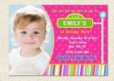 This listing is for an electronic JPEG file of the invitation. You can print as many as you need at your local photo lab, print shop or from home
