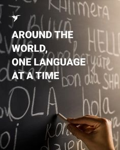 Around the World, One Language at a Time First Language, Need To Know, Around The Worlds, Blog, Blogging