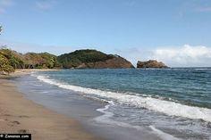 Nord Martinique : Anse Azérot sur la côte atlantique.