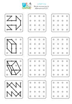 Writing Practice Worksheets, Preschool Worksheets, Kindergarten Activities, Educational Activities, Preschool Activities, Logic Math, Visual Perceptual Activities, Perspective Drawing Lessons, Printing Practice