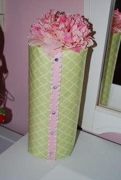 Pale Pink and Green Headband Holder. $18.00, via Etsy.