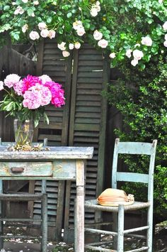 ...To have an enchanting garden corner...