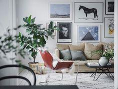 my scandinavian home: A Light-filled Apartment on Sweden's West Coast