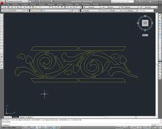 Progettazione e successiva preparazione dello stencil su foglio di plastica