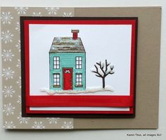 Holiday Home on a Glistening Winter's Day! | KarenTitus.com