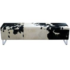 Fashion N You Modernist Upholstered Bedroom Bench Color: Black Leather Tray, Leather Bench, Wood Storage Bench, Upholstered Storage Bench, Extendable Dining Table, Black And White, Home Decor, Black Bench, White Bench