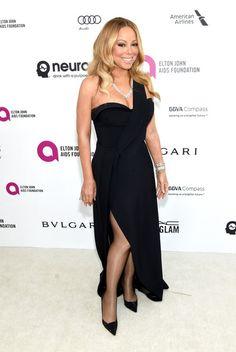 Mariah Carey Photos - Celebrities Attend an Oscar Viewing Party - Zimbio