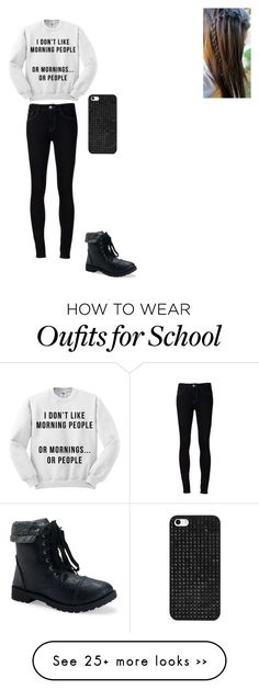 """School"" by gracielovelygrace on Polyvore featuring moda, Ström, Aéropostale e BaubleBar"