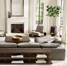 Home Furniture Living Room Modern Furniture Lounge My Living Room, Home And Living, Living Room Decor, Simple Living, Cozy Living, Grey Leather Sectional, Leather Sofas, Modern Furniture, Home Furniture