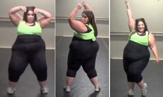 Proof you can dance at ANY size: Plus-size woman's unbelievable moves make her a sensation in weight acceptance campaign