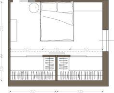 Due soluzioni per avere in camera la cabina armadio: ampia e comoda, sfruttata su due lati, oppure divisa in due parti separate per lui e per lei. Ecco i progetti del nostro architetto per il lettore Massimo L.