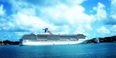 """Carnival """"GLORY"""" in St. Lucia... Carnival Glory, Carnival Ships, Carnival Legend, Alaska Cruise, Dream Vacations, Caribbean, Places, Beautiful, Train"""