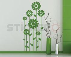 Sticker decorativ Florile Soarelui