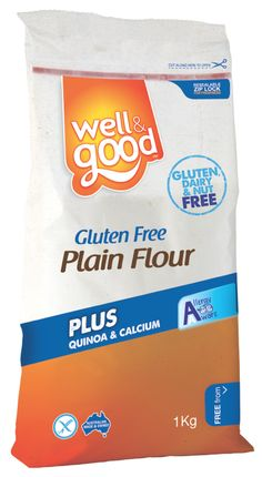 Gluten Free Plain Flour. This is the answer for your own Gluten Free baking creations, or favourite recipes. Try cakes, sauces, breads or biscuits! Now displaying the FODMAP Friendly logo.