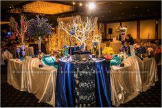 Gorgeous wedding decor at Viviano's Bridal Extravaganza 2014. #arisingimages #wedding #florist