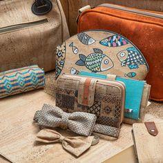 Kork ist das Naturprodukt der Stunde – Leicht und robust: Kork ist im Trend Tom Dixon, Trends, Pattern, Bags, Leather, Vegan Products, Vegan Fashion, Fanny Pack, Handbags