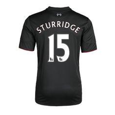 Maillot de foot Liverpool 3rd 2015/2016 (15 Sturridge) Noir