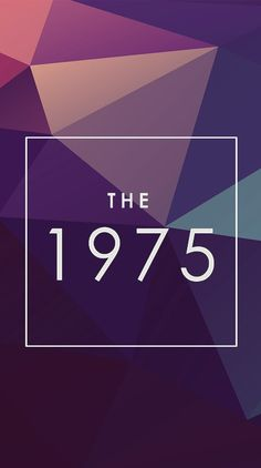 the 1975 logo with pretty background | band lover ...