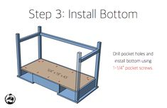 Free and easy DIY plans for how to build a flip top vanity with a hinged top. This great looking DIY vanity is functional and easily conceals all the mess. Diy Makeup Vanity Plans, Diy Makeup Vanity Table, Vanity Ideas, Woodworking Projects Diy, Diy Projects, Pocket Screws, Pocket Hole, Bars For Home, Diy Furniture