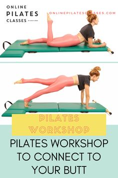 "During this workshop you will learn exercises to connect to your butt (what I like to call your ""Thass""), how to see if it's working and how to use it in some of the most difficult exercises. We will explore on the Mat, Cadillac, Reformer and more. #pilates #pilatesexercises #buttworkout #pilatesstudio #pilatesworkout #pilatestraining Fitness Tips, Fitness Motivation, Barre Fitness, Fitness Routines, Pilates Workout, Butt Workout, Arm Toning Exercises, Fitness Exercises, Pilates Training"