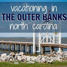Vacationing in The Outer Banks, North Carolina - Daily Mom Outer Banks North Carolina, Outer Banks Nc, Outer Banks Vacation, Vacation Places, Vacation Spots, Places To Travel, Places To Go, Vacation Ideas, Spring Vacation