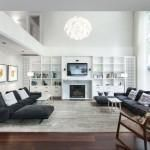 Small Family Room Furniture Arrangement Design : Lovely Interior Decoration Ideas
